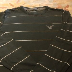 American Eagle long sleeve striped t-shirt, small